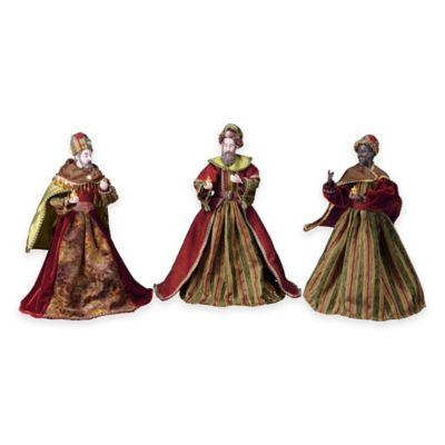 Nativity 16-Inch 3-Piece Wisemen Set