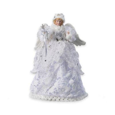 Silver Angel 16-Inch Figurine Tree Topper