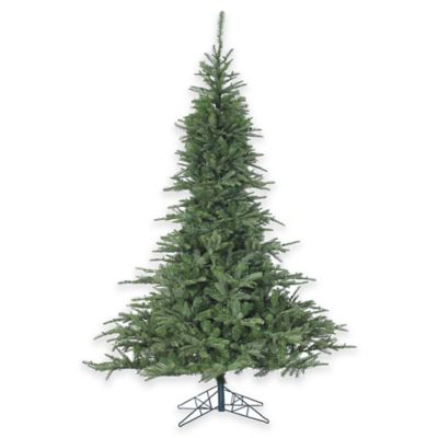 Fraser Hill Farm 7.5-Foot Cluster Pine Artificial Christmas Tree