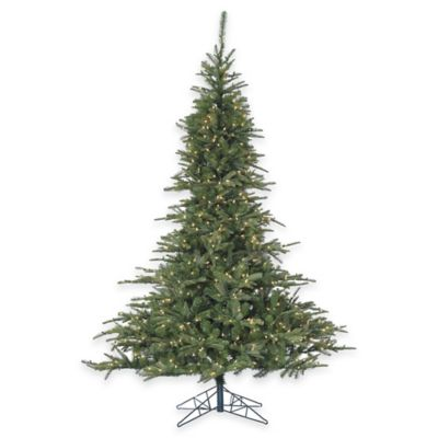Fraser Hill Farm 7.5-Foot Pre-Lit Smart Lighting Cluster Pine Artificial Christmas Tree