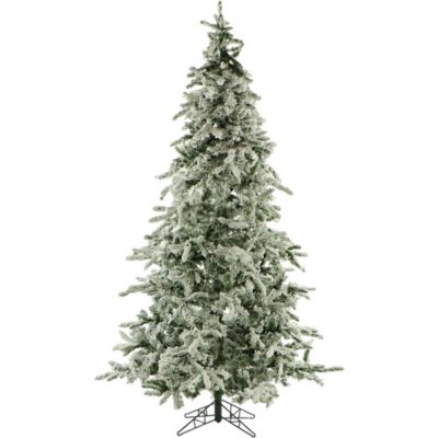 Fraser Hill Farm 7.5-Foot Mountain Pine Artificial Christmas Tree