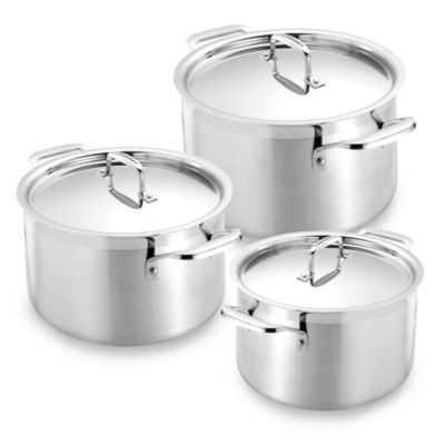 Stainless Steel 3-Quart Casserole