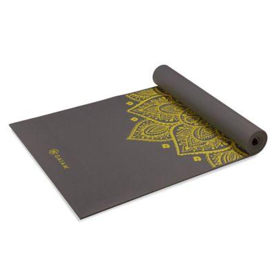 Gaiam® 5mm Citron Sundial Yoga Mat