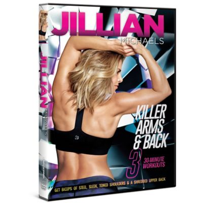 Gaiam® Jillian Michaels Killer Arms & Back DVD