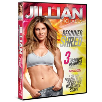 "Gaiam® ""Jillian Michaels Beginner Shred"" DVD"