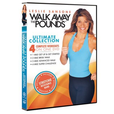 "Gaiam® ""Leslie Sansone Walk Away the Pounds Ultimate Collection"" DVD"