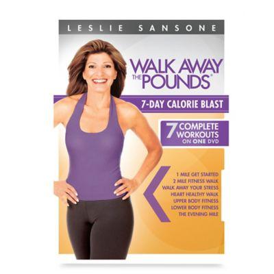 "Gaiam® ""Leslie Sansone Walk Away the Pounds 7-Day Calorie Blast"" DVD"