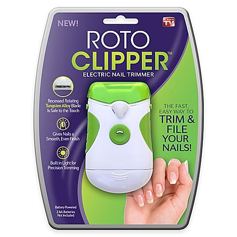 Roto Clipper Electric Nail Trimmer Bed Bath Amp Beyond