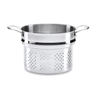 The French Chefs™ 8 qt. Stainless Steel Pasta Steamer Insert