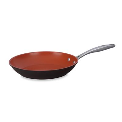 Bialetti® Terracotta Xtra 10.25-Inch Open Fry Pan in Brown