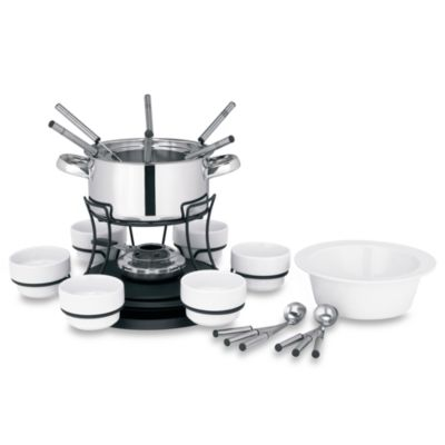 Lazy Susan 3-in-1 Fondue Set