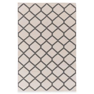 Artist Weavers Vogue Elizabeth 8-Foot x 10-Foot Area Rug in Ivory/Grey
