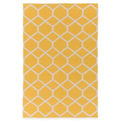 Artist Weavers Vogue Elizabeth 9-Foot x 12-Foot Area Rug in Yellow