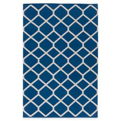 Artist Weavers Vogue Elizabeth 9-Foot x 12-Foot Area Rug in Blue
