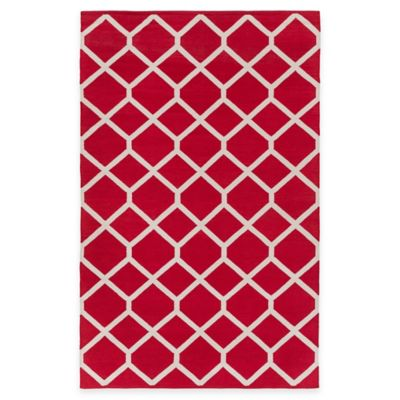 Artist Weavers Vogue Elizabeth 9-Foot x 12-Foot Area Rug in Red