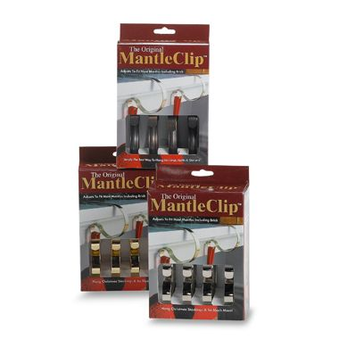 The Original Mantle Clip™ in Oil-Rubbed Bronze (Set of 4)