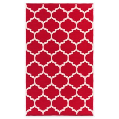 5 Red Area Rug
