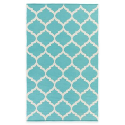 Artist Weavers Vogue Everly 2-Foot x 3-Foot Accent Rug in Teal