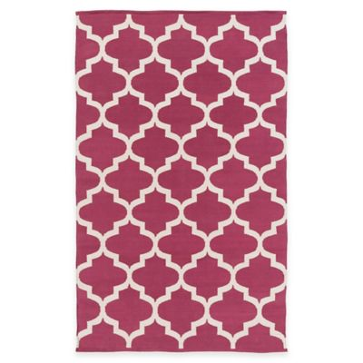Artist Weavers Vogue Everly 2-Foot x 3-Foot Accent Rug in Maroon