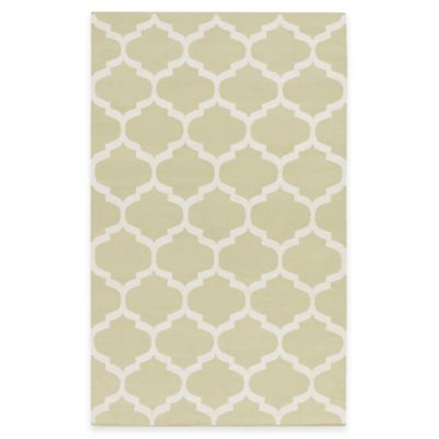 Artist Weavers Vogue Everly 2-Foot x 3-Foot Accent Rug in Green