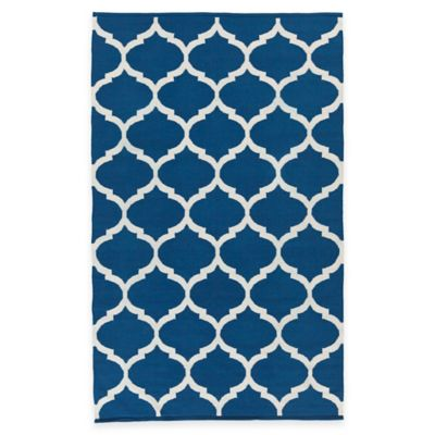 Artist Weavers Vogue Everly 4-Foot x 6-Foot Area Rug in Blue