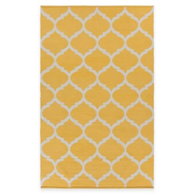 Artist Weavers Vogue Everly 5-Foot x 8-Foot Area Rug in Yellow