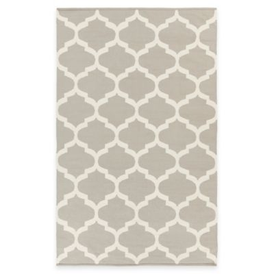 Artist Weavers Vogue Everly 5-Foot x 8-Foot Area Rug in Grey