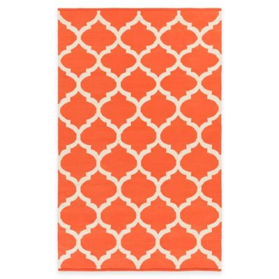Artist Weavers Vogue Everly 5-Foot x 8-Foot Area Rug in Coral