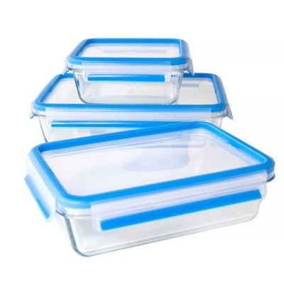 Zyliss® Fresh 6-Piece Glass Food Storage Set
