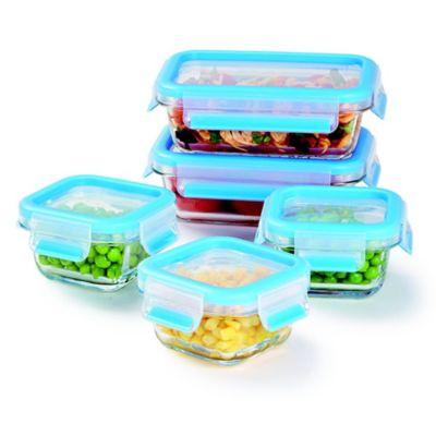 Zyliss® Fresh 10-Piece Glass Food Storage Set