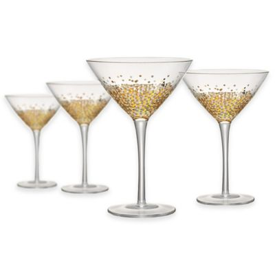 Artland® Ambrosia Martini Glasses (Set of 4)