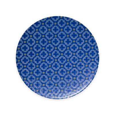 Q Squared NYC Montecito Blue Large Serving Platter