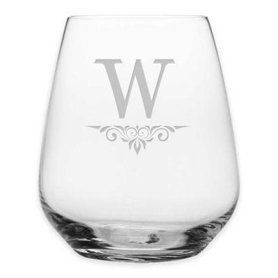 Susquehanna Glass Victoria Stemless Wine Glasses (Set of 4)