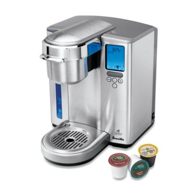 Single Coffee Maker Bed Bath And Beyond : Breville Gourmet Single Cup Brewer with Iced Beverage Function - Bed Bath & Beyond