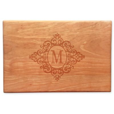 Susquehanna Glass Vintage Wood Cheese Board