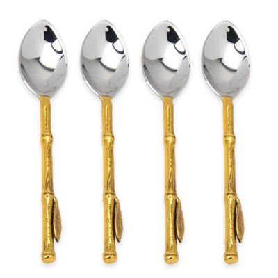 Gold Spoons Flatware
