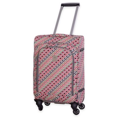 Jenni Chan Tiles 20-Inch Upright Carry On Spinner