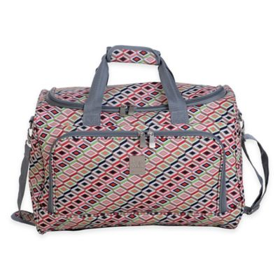 Jenni Chan Tiles 17-Inch City Duffle Bag