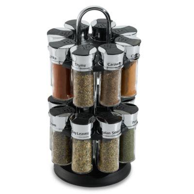 Olde Thompson 16-Jar Spice Rack