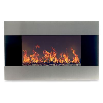 Northwest Stainless Steel Electric Fireplace Heater Fireplaces