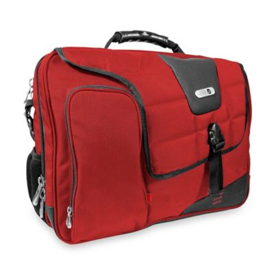 ful® ComMotion Messenger Bag in Red