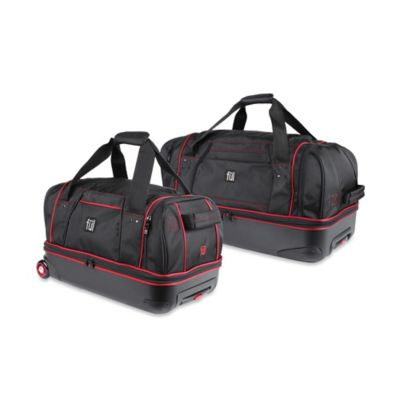 ful® 21-Inch Hybrid Rolling Duffle Bag in Black
