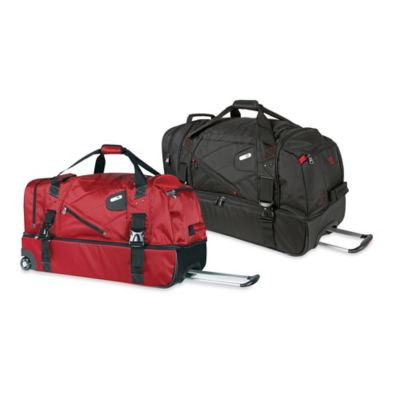 Red Wheeled Duffle