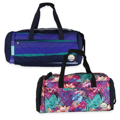 Roxy® Road to Island Duffle Bag in Blue Stripe