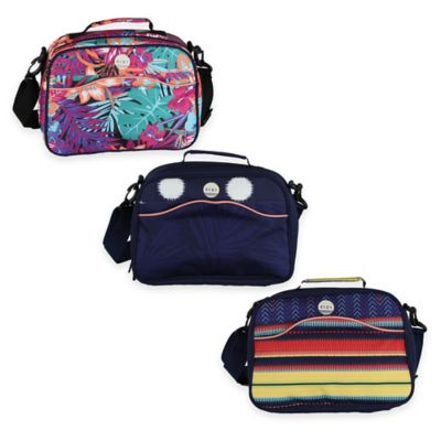 Roxy® Sunset Large Cosmetic Case in Stripe