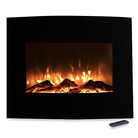 buy northwest mini curved glass electric fireplace heater