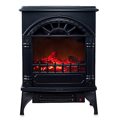 buy northwest freestanding electric log fireplace heater