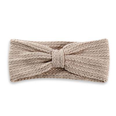 Blue Knit Headwrap