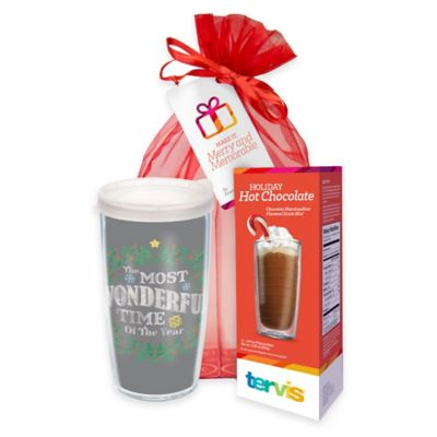 Tervis® Wonderful Time 16 oz. Wrap Tumbler Hot Cocoa Gift Set