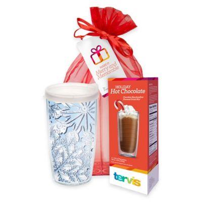 Tervis® Snowflake 16 oz. Wrap Tumbler Hot Cocoa Gift Set